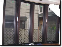 真空ガラス「スペーシア」施工後