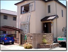 サン・ウインドトーヨー住器:エコ雨戸の導入事例…京都府宇治市 O様邸
