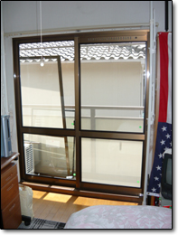 サン・ウインドトーヨー住器:エコ窓の導入事例…F様邸
