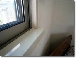 サン・ウインドトーヨー住器:内窓取付下枠補強工事…京田辺T邸