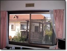 サン・ウインドトーヨー住器:真空ガラス「スペーシア」の導入事例…奈良市N様邸施工前