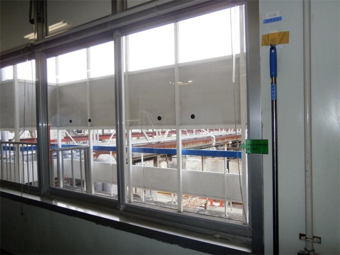 サン・ウインドエコ窓の導入事例:L社アイスクリーム工場様06:完成
