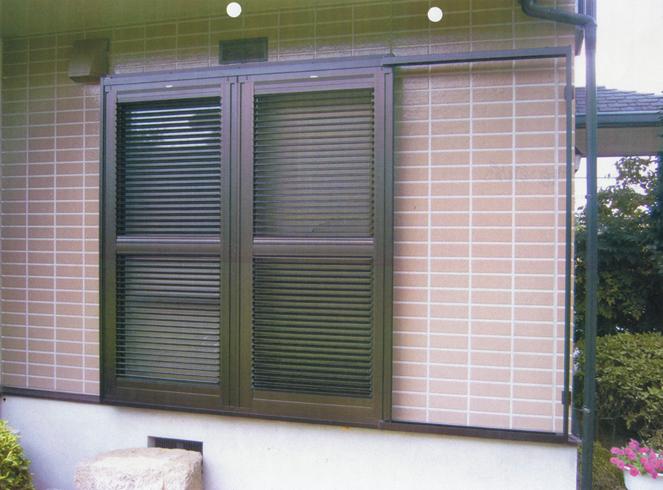 サン・ウインド:エコ雨戸(エコアマド)施工事例 奈良市学園前 F様邸
