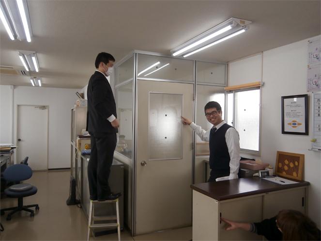 エコ窓の導入事例・・・京都府 知恵の経営認定のA産業株式会社 様