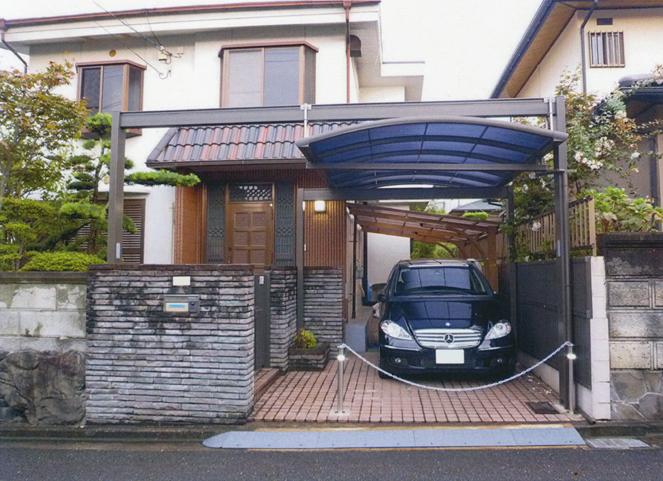 サン・ウインド:カーポート施工事例京都府京田辺市