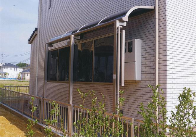 サン・ウインド:テラス屋根・テラス囲い施工事例大阪府交野市