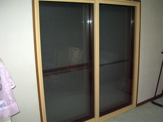 サン・ウインド:内窓(インナーサッシ)プラスト&防音ガラスソノグラスの導入事例 京都府伏見区 K様邸 LDK