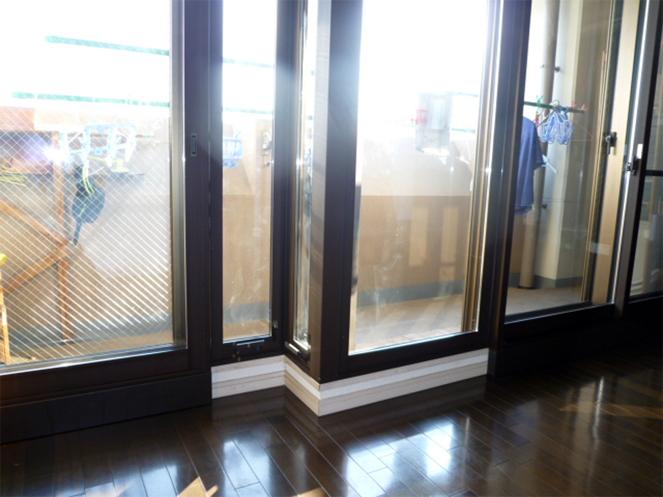 サン・ウインド内窓(インプラス)導入事例:大阪市城東区下施工後