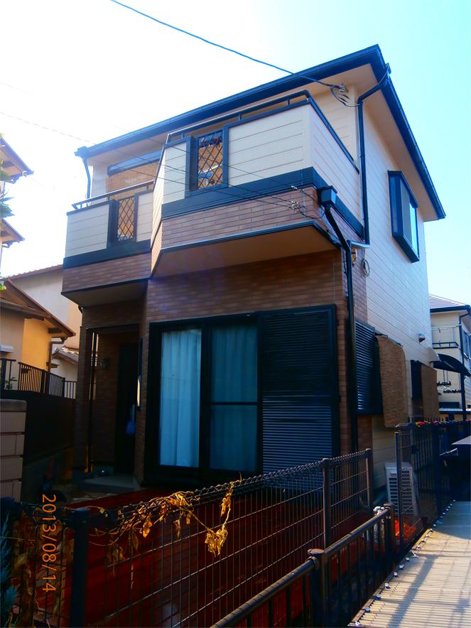 サン・ウインドのリフォーム導入事例:八幡市 F様邸外装施工後
