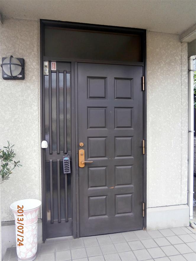 サン・ウインドの玄関ドアリフォームの導入事例:大阪府枚方市G様邸