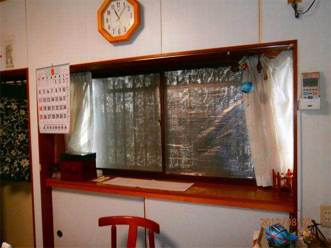 サン・ウインドエコ窓の導入事例:精華町T様邸
