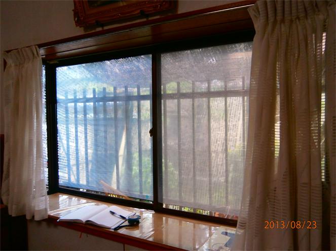 サン・ウインドエコ窓の導入事例:精華町T様邸サン・ウインドエコ窓の導入事例:精華町T様邸