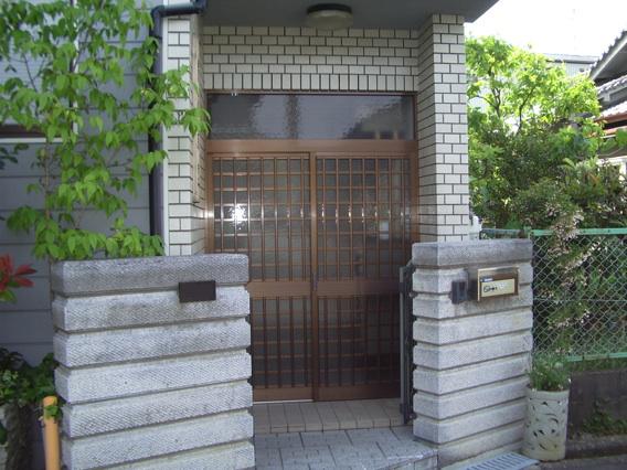 玄関ドアリフォーム大阪府枚方市N様邸施工前
