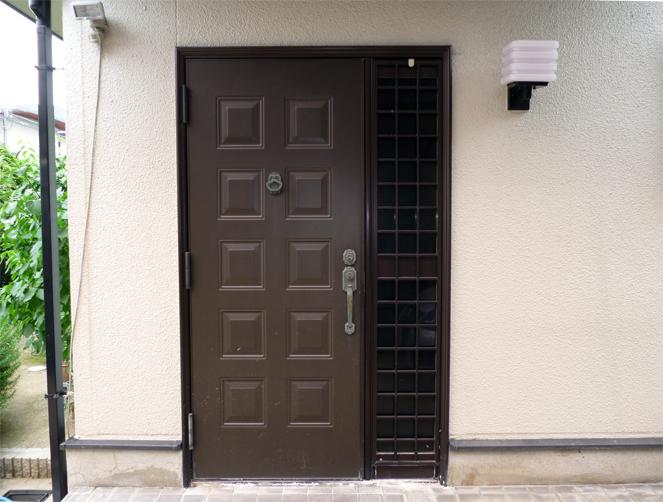 神戸市T様邸玄関ドア施工前
