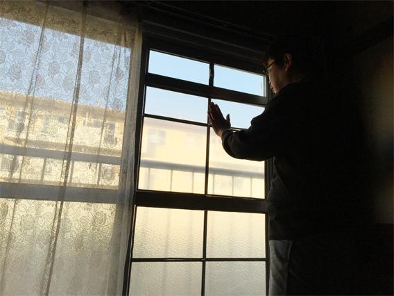 エコ窓設置京都府八幡市K様邸設置中01
