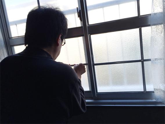 エコ窓設置京都府八幡市K様邸設置中02