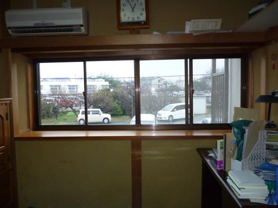 内窓プラスト設置宇治市H様邸施工前