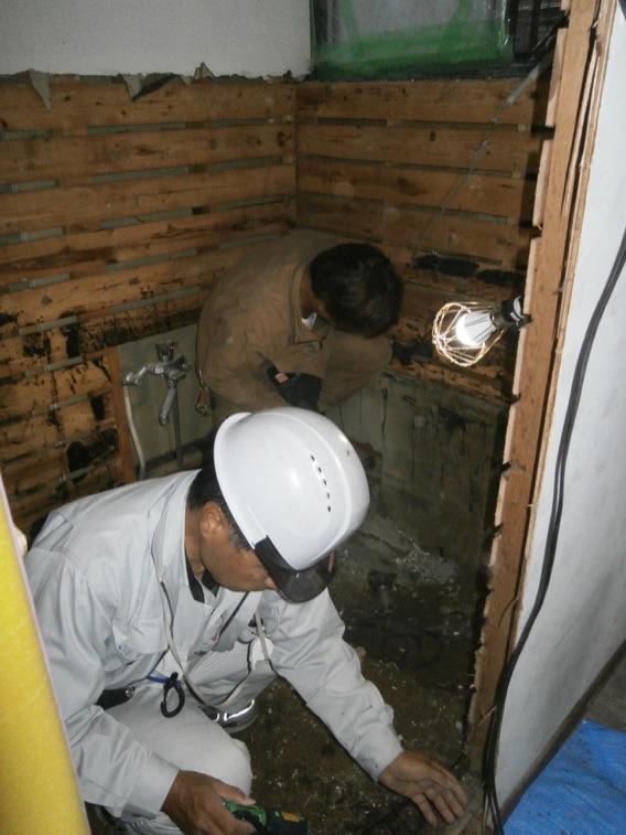 浴室(バスユニット)リフォーム中京都府八幡市N様邸