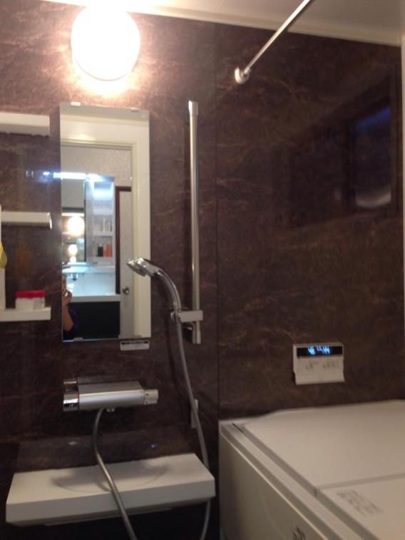 浴室(バスユニット)リフォーム後京都府八幡市N様邸