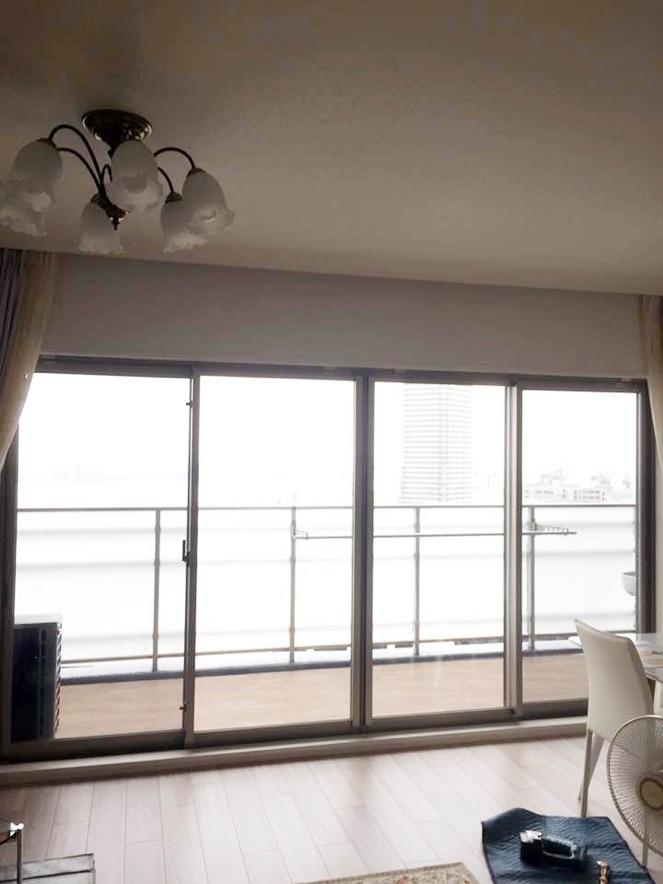 内窓プラスト&防音合わせガラスの導入事例兵庫県神戸市D様邸ビフォー