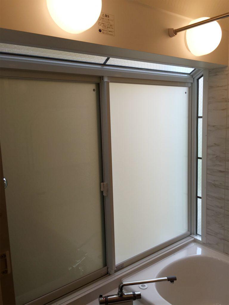 浴室リフォーム 施工後(出窓部分)