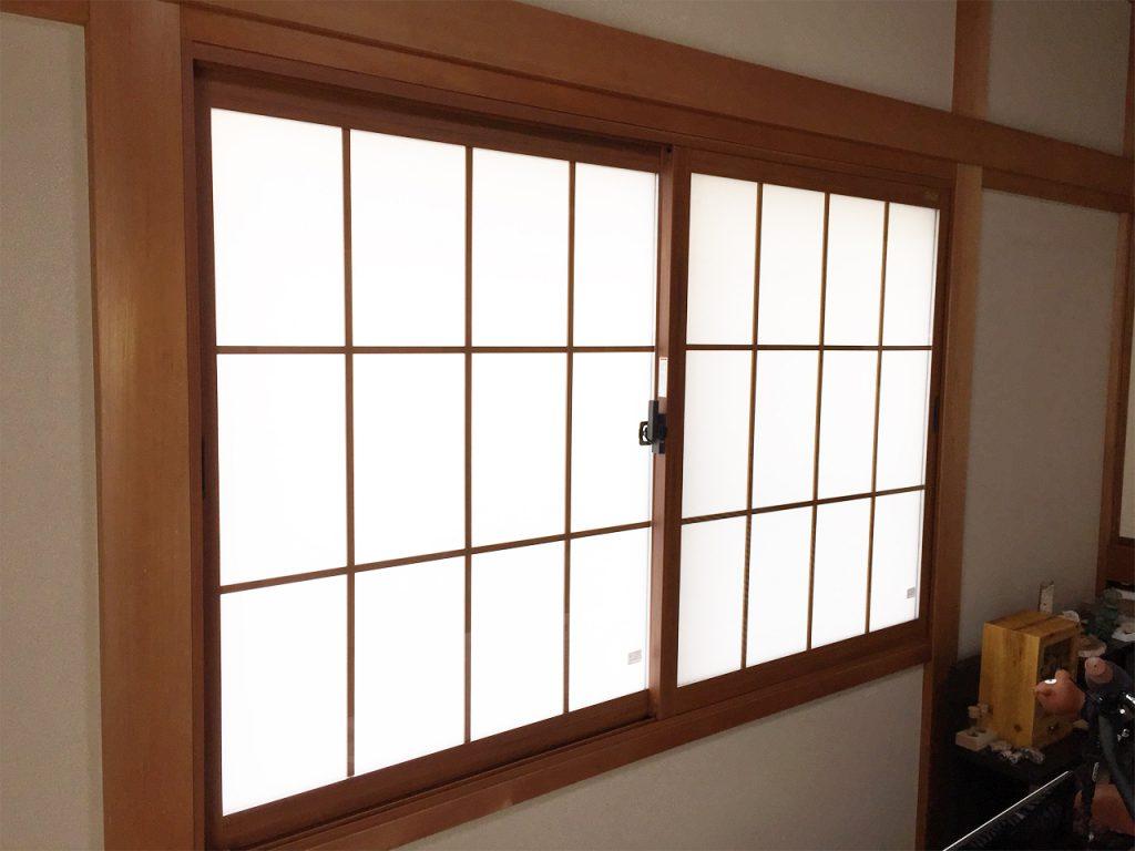 内窓インプラス設置施工後