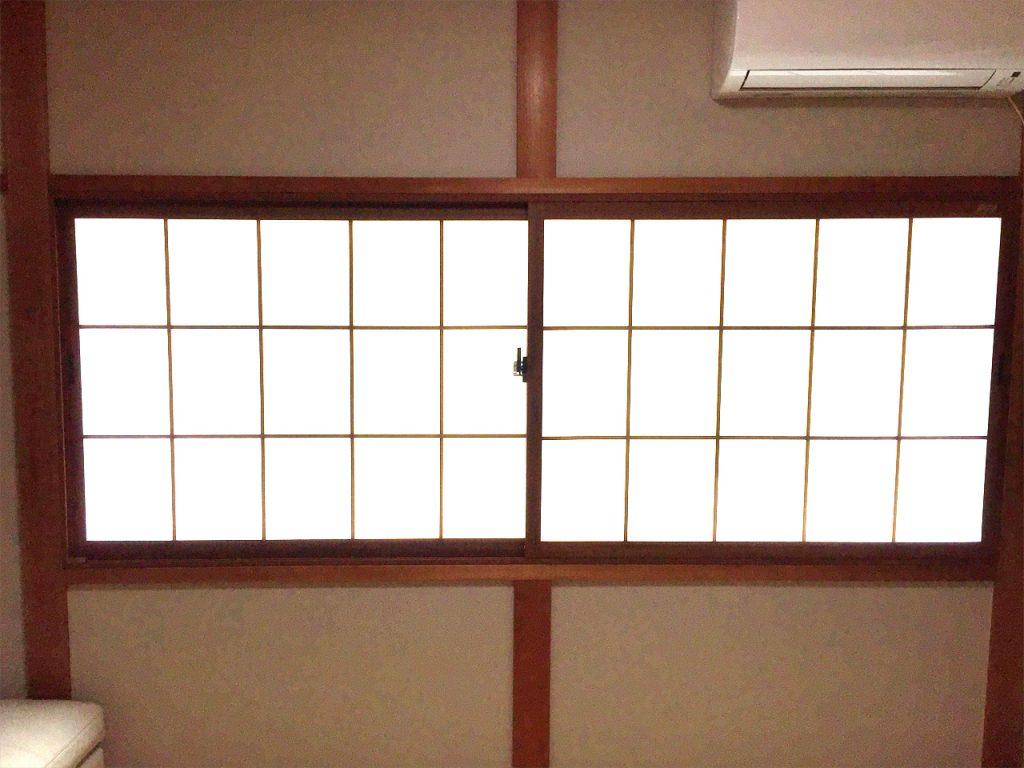 内窓インプラス設置 施工後