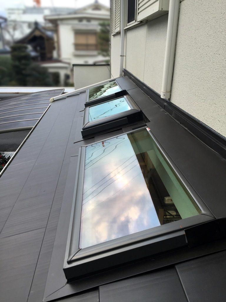 天窓設置施工後
