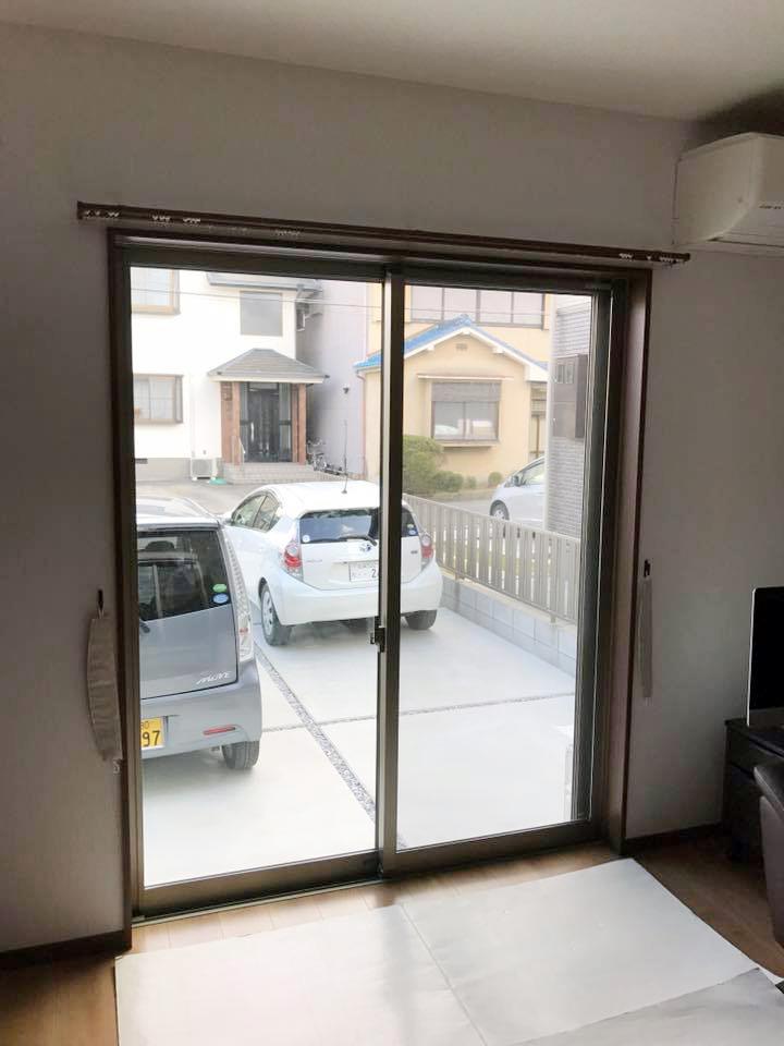 内窓プラストの導入事例滋賀県守山市 K様邸 05ビフォー