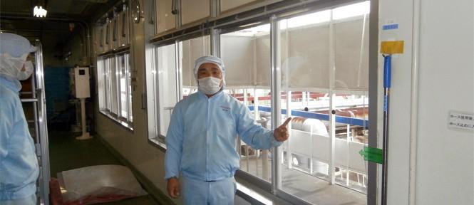 エコ窓の導入事例:L社アイスクリーム工場様