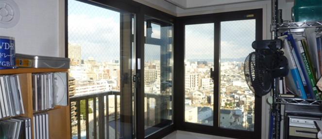 内窓(インナーサッシ)「インプラス」の導入事例・・・大阪市城東区 K様邸