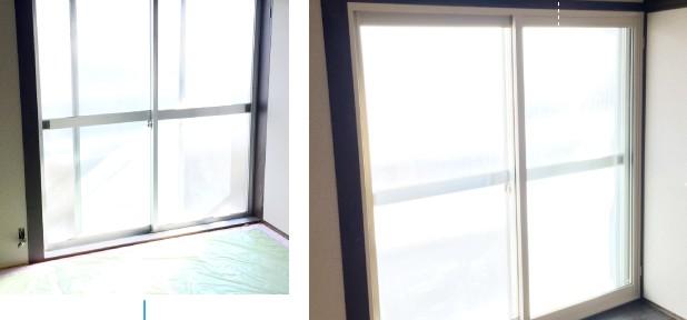 内窓プラスト&内窓インプラスの導入事例 大阪市 I様邸