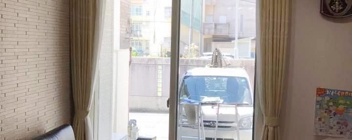掃き出し窓内窓プラスト&防音合わせガラス12mm施工後