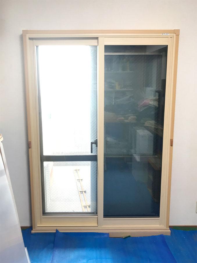 内窓プラスト&防音合わせガラスソノグラス 防音リフォーム工事 施工後