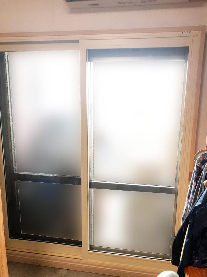 内窓プラスト&防音ガラス防音リフォーム工事子供部屋施工後