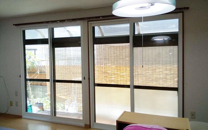 内窓プラスト&防音合わせガラスソノグラス防音リフォーム工事施工後