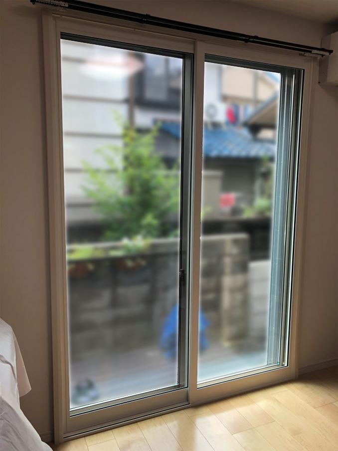 内窓プラスト&防音合わせガラス 施工後
