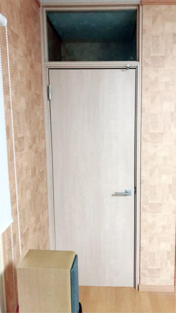 室内防音ドア 施工後(クローズ)
