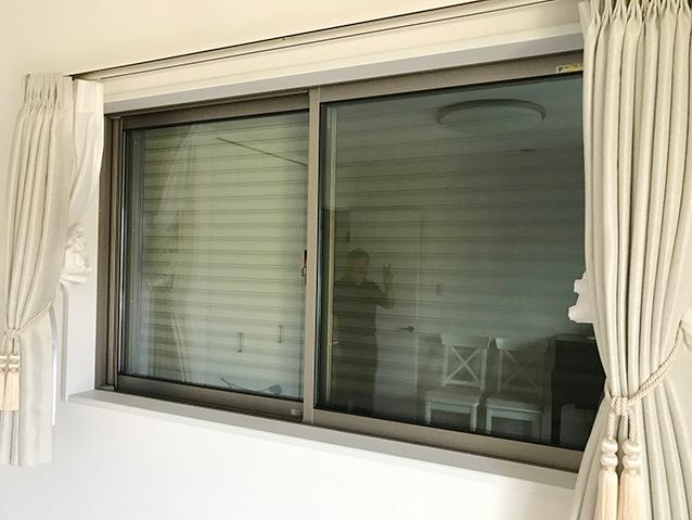 施工前の既存窓(腰窓)