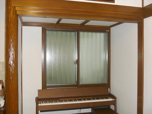 内窓まどまどplus&防音ガラスマイミュート 施工後