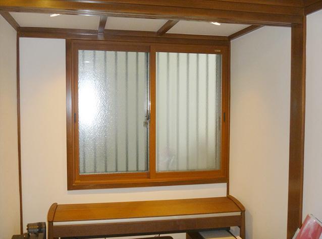 施工前(既存内窓インプラス+複層ガラス)