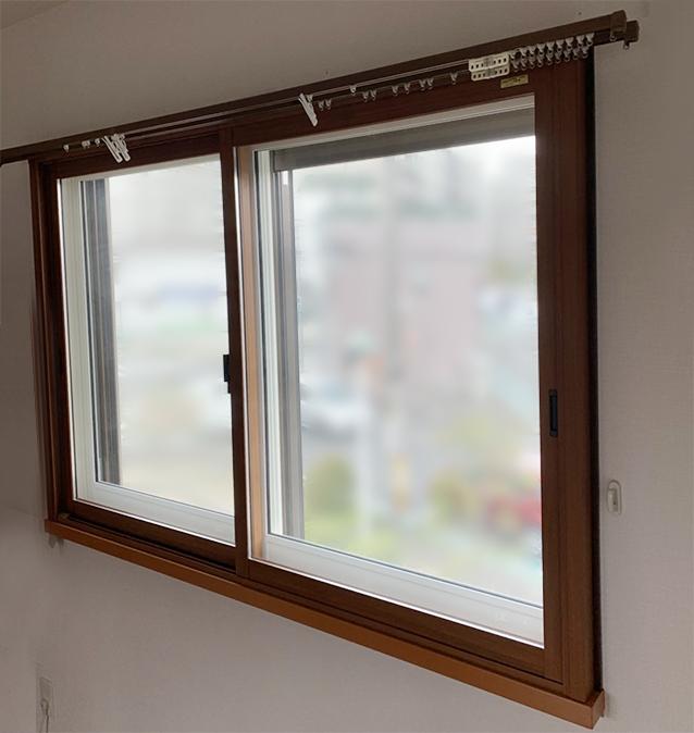 内窓プラスト&防音合わせガラス&ふかし枠+インプラス設置 施工後