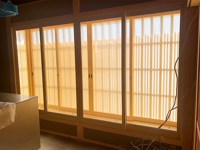 内窓プラストの導入事例 京都市西京区 T様邸