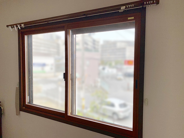 施工前の既存窓(インプラス設置)