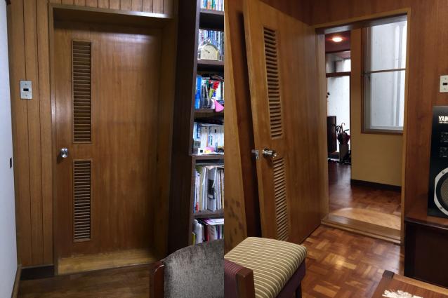 既存室内ドア施工前