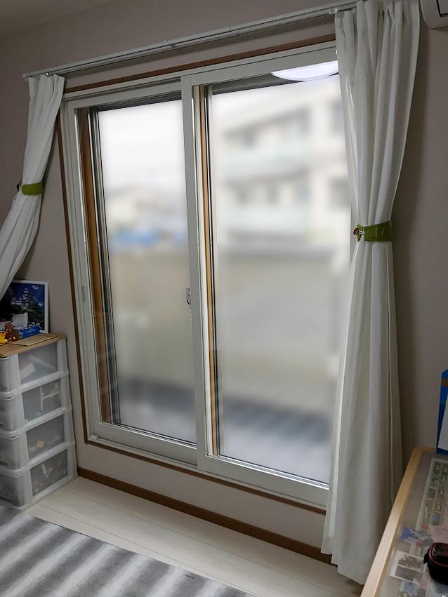 内窓インプラス施工後