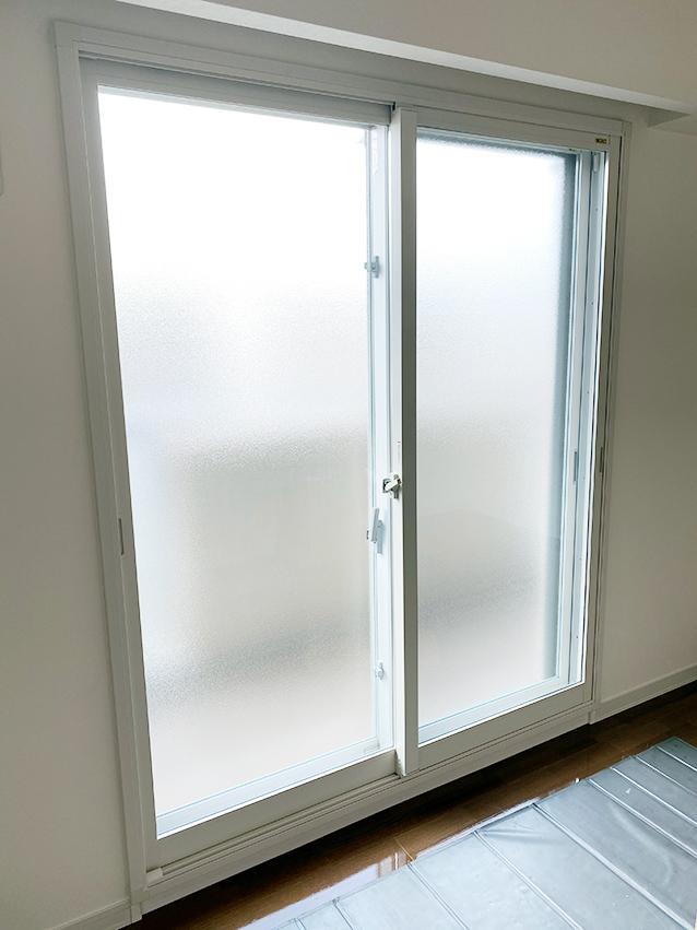 内窓インプラス施工後(掃出し窓)