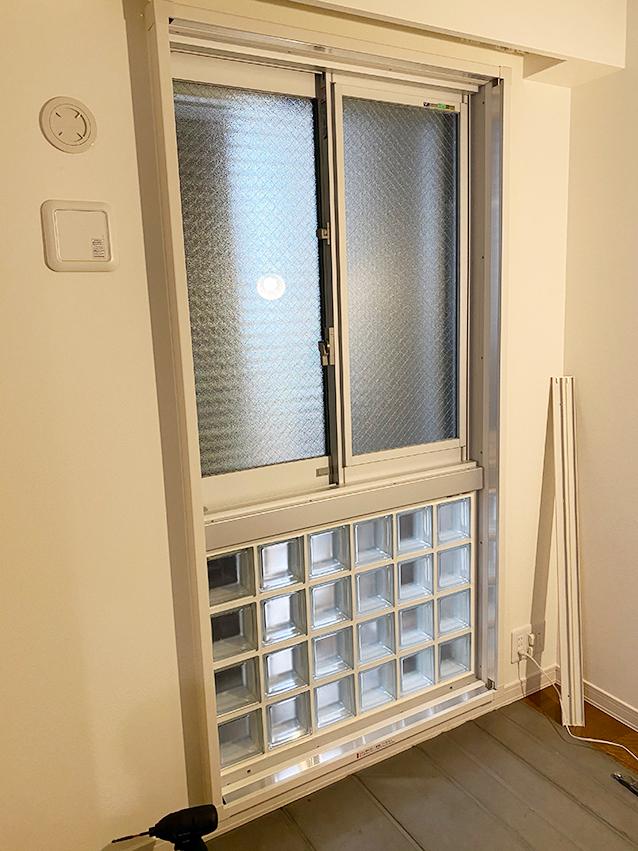 施工前の腰窓&特殊窓