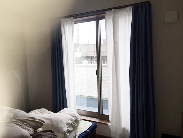 施工前の掃き出し窓(3F寝室)