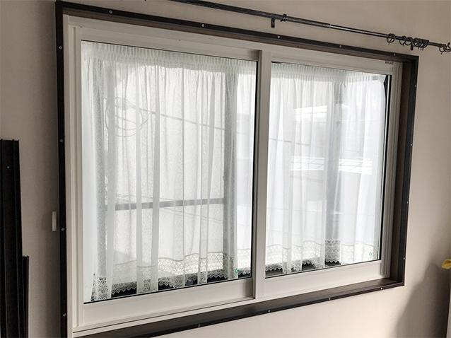 01内窓プラスト&防音合わせガラス施工後-1